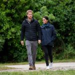 The visit to the national park on New Zealands South Island provided a chance for the couple to learn about conservation projects in the area