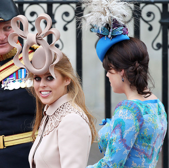 This was the hat which caused a stir at Prince William and Kates wedding Image GETTY
