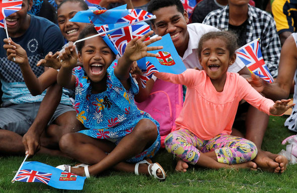 Meghan and Harry have arrived in Fiji Image GETTY