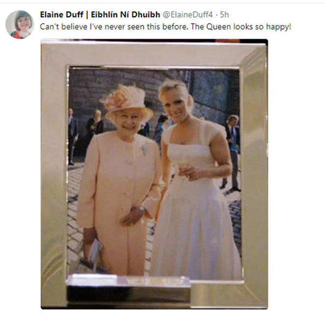 Zara Tindall and the Queen Photo C PA