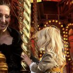 Zoe Givenchy and her little one enjoy the fun fair themed rides Image Zoe Givenchy Instagram
