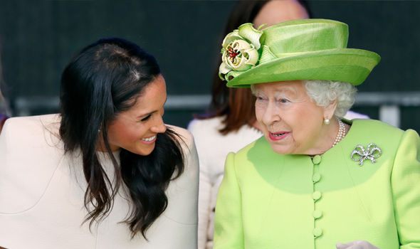 "Meghan Markle has revealed the ""incredibly surreal"" and ""sweet"" meeting she had with the Queen Image Getty"