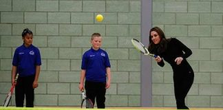 kate middleton playing tennis essex a