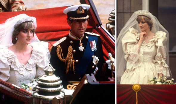 0 Princess Diana and Prince Charles on their wedding day Image Getty