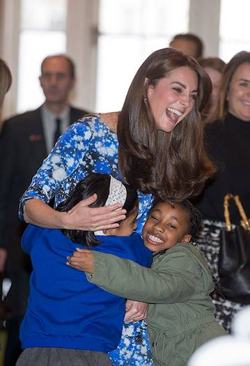 01 Catherine Duchess of Cambridge with Children Photo © Getty Images