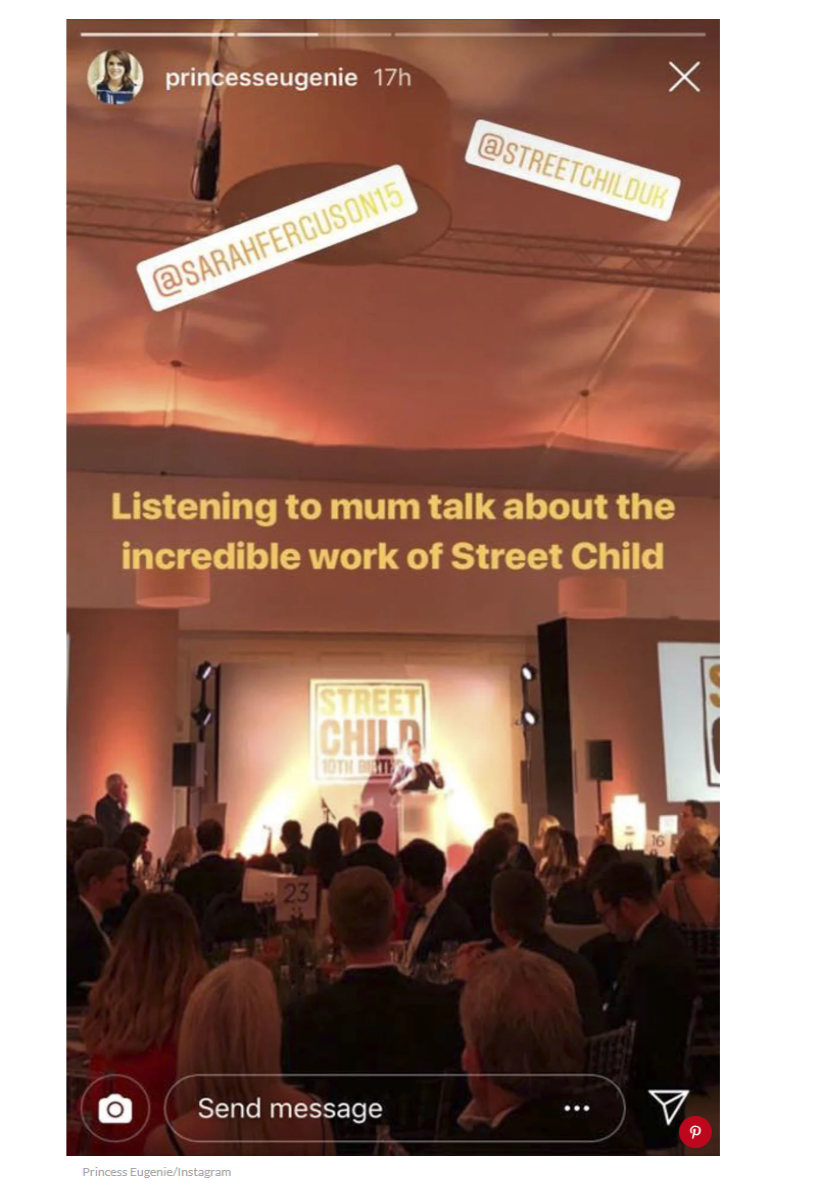 1 Princess Eugenie Instagram