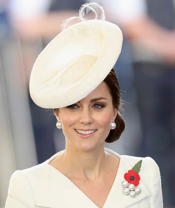 Kate Middleton news William also had a sapphire added to Kate's watch Image GETTY