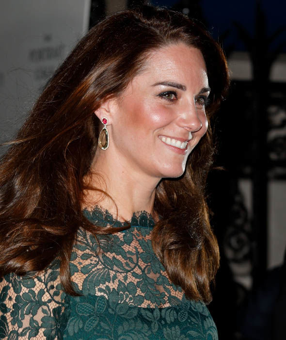 14 Catherine Duchess of Cambridge Wore Jewellery Collection Photo C