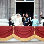 14 Much to the crowds delight the Queen and Prince Phillip also joined the couple on the balcony Image Getty