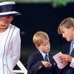 2 Princess Diana Prince William and Prince Harry Image Getty
