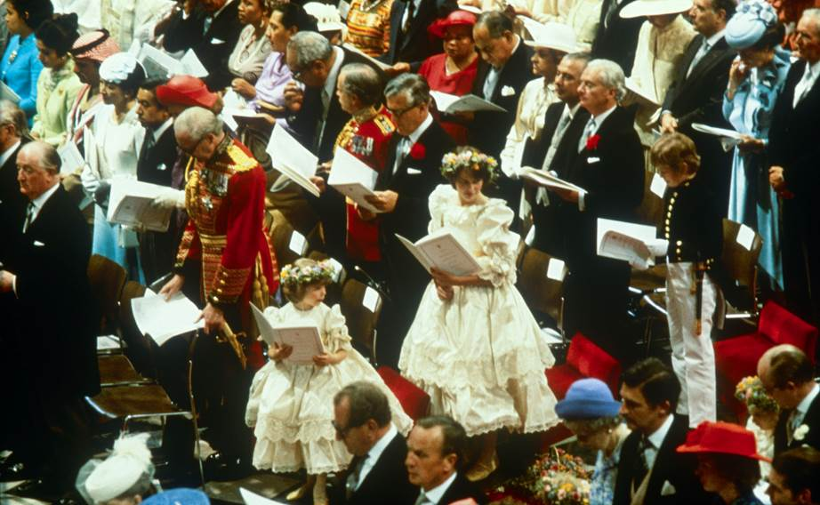 Inside the wedding of Prince Charles and Princess Diana