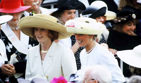 The relationship between the Duchess of York and Princess Diana was complex Image Getty