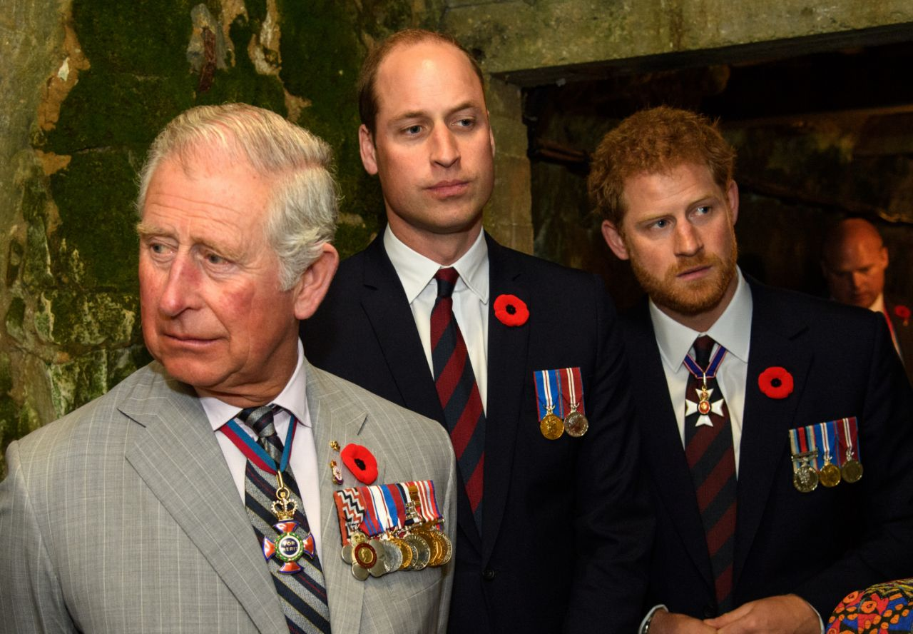According to The Daily Beast Prince Charles relationship with sons William and Harry is strained Source Getty