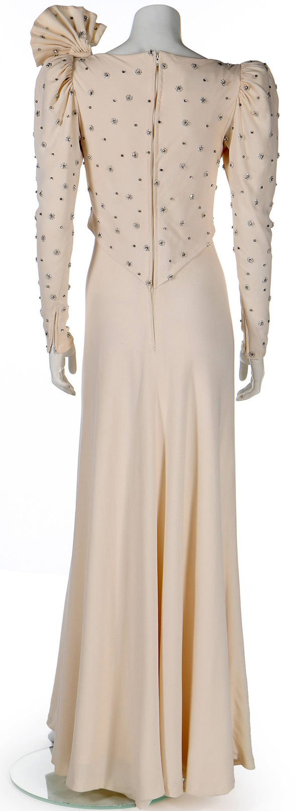 An evening gown that belonged to Princess Diana has emerged for sale for £100 000 Image KerryTaylorAucitons BNPS