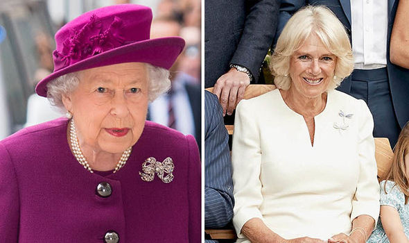 Camilla has been given the royal seal of approval Image GETTY