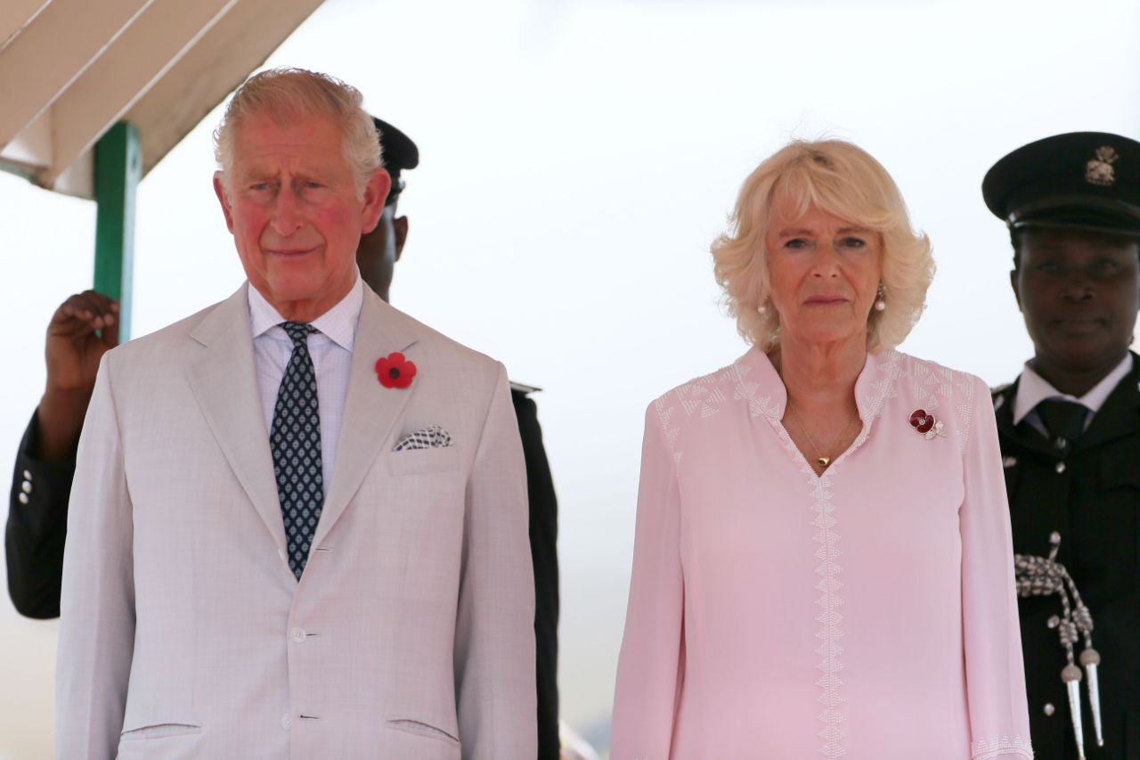 Camilla the Duchess of Cornwall has left Prince Charles to complete the final two days of their African royal tour on his lonesome Source Getty