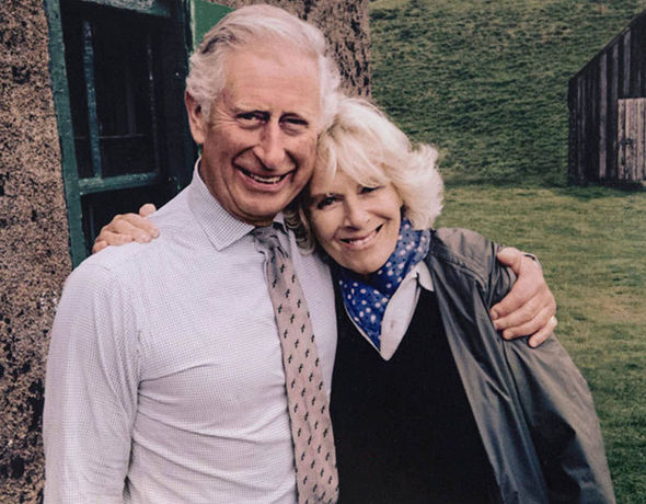 Charles also turned to Camilla for support during his marital troubles with Diana Image EPA