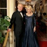 Charles and Camilla posed ahead of the glitzy do Image CHRIS JACKSON CLARENCE HOUSE GETTY