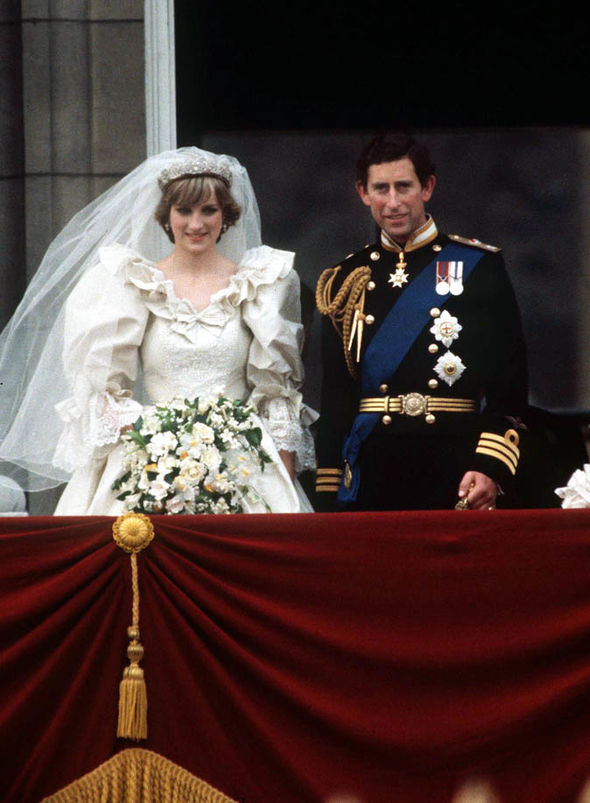 Charles and Diana wed in 1981 Image GETTY