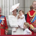 Charles and George share a cute moment together in 2016 Image GETTY