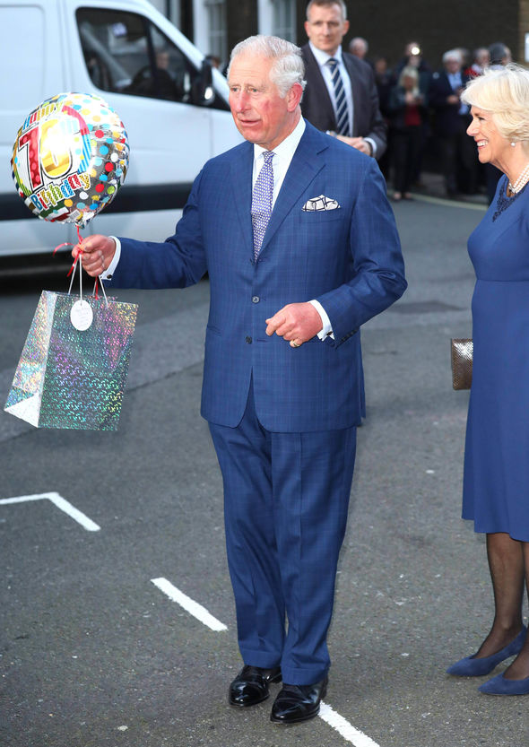 Charles celebrates his 70th birthday today Image GETTY