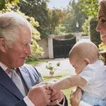 Charles has a close relationship with his three grandchildren Photo C GETTY