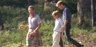 Charles would often make William and Harry collect rubbish when they were boys Image Julian Parker UK Press via Getty Images