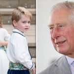 Charlotte and George caused their grandfather Charles a bit of trouble Image GETTY 1