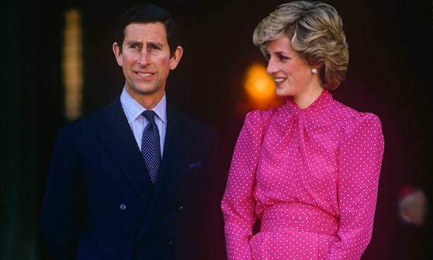 Clarence House include iconic Princess Diana photograph in 70th birthday tribute to Prince Charles Photo C GETTY