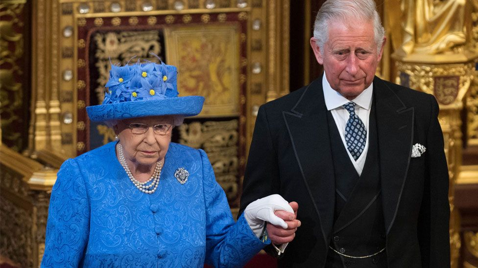 Could Her Majesty be considering it might be time to pass the reins over to Charles Source Getty