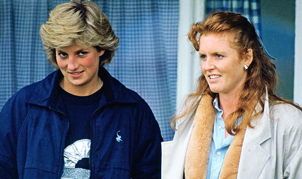 Diana and Fergie Image Getty