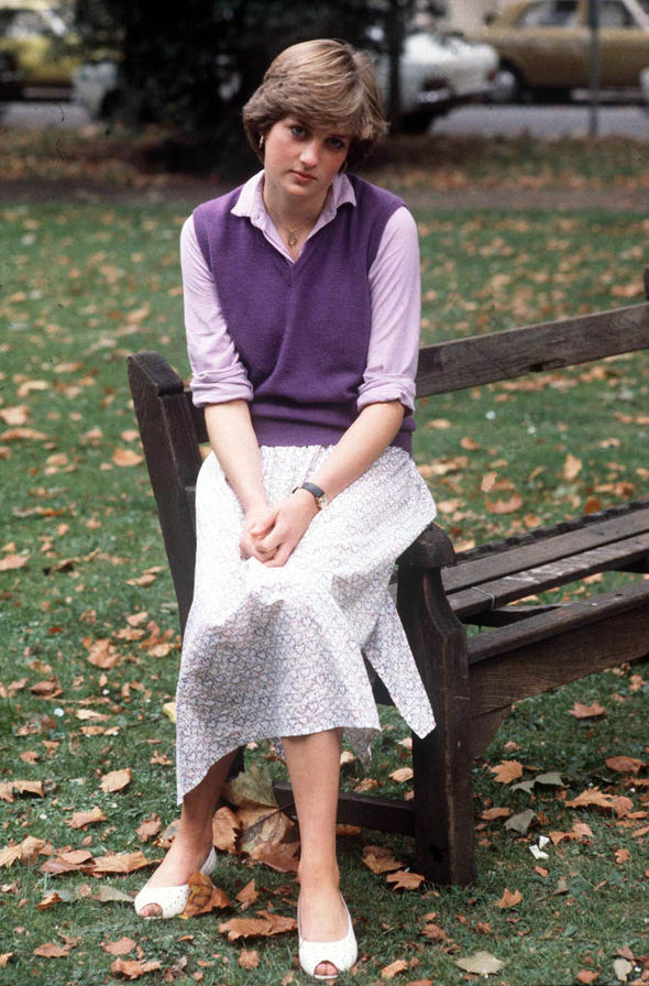 Diana poses for a photo in 1980 a year before she married Prince Charles Image GETTY
