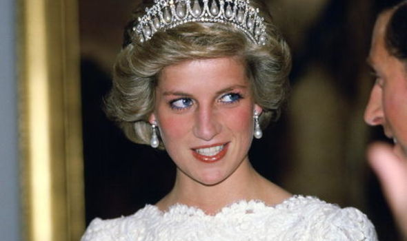 Diana showed off her naughty side when she sent a rude birthday card Image GETTY