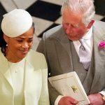 Doria Ragland at Meghan Markles wedding Image GETTY