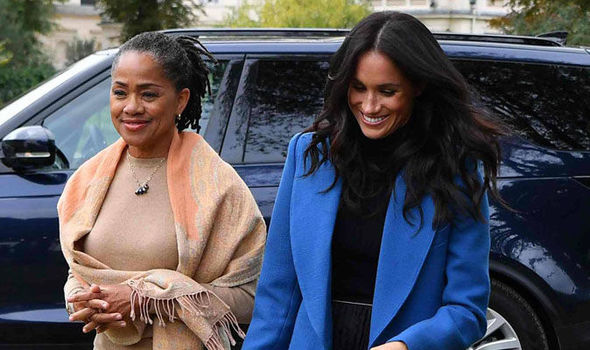 Doria has offered dignified support to her daughter Meghan Image BEN STANSALL AFP Getty Images