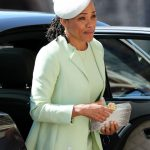Doria who was the only member of Meghan Markle's family to attend her wedding to Prince Harry on May 19th Photo C GETTY