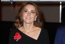 Duchess Kate is beautiful in black Roland Mouret at the Royal Festival of Remembrance Photo C GETTY
