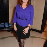 Duchess of York was clearly beaming on her night out at Claridges on Thursday evening Image SPLASH NEWS
