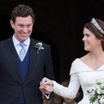 Eugenie 28 married Jack Brooksbank on October 12 Image GETTY