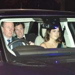 Eugenie and Jack are guests at Charless birthday Image PA