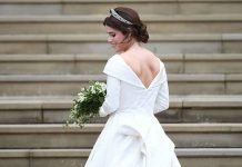 Eugenie proudly showed off her scar in her wedding dress Photo C GETTY IMAGES