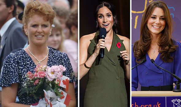 Fergie paved the way for Meghan and Kate Image Getty