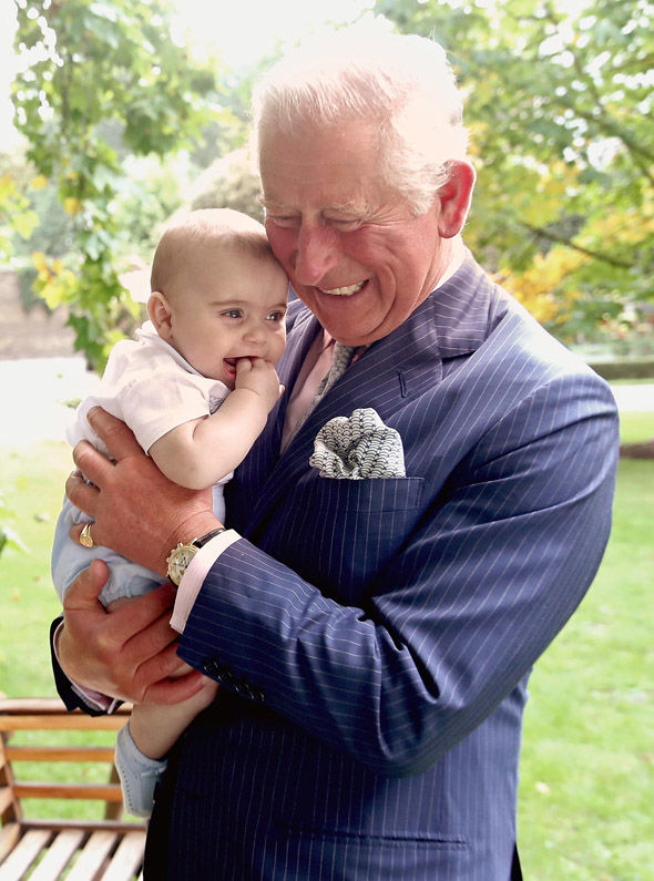 Grandpa Wales and Louis Images are part of a set to mark His Royal Highnesss 70th birthday Image Chris Jackson Getty Images for Clarence Hous