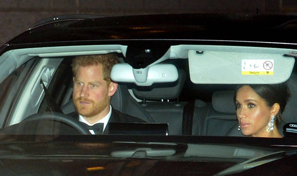 Harry drives Meghan to his fathers birthday event Image Nick Ansell PA Wire