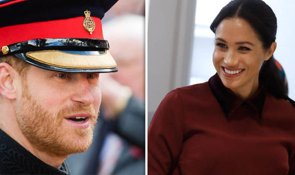 Hayy and Meghan will not spend their anniversary together Image GETTY