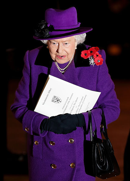 He explained that as Prince Philip missed the service Kate took his place Image GETTY