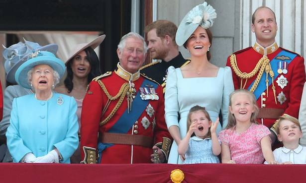 How Prince Charles kept George Charlotte and Louis entertained during recent family portrait Photo C GETTY