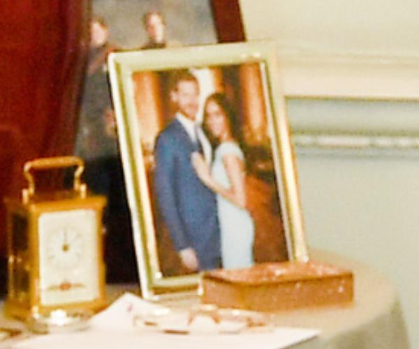 If you squint really hard you can make out a couple in love Royal fans were thrilled to get a peek at the sweet unseen photograph