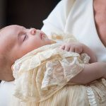 JULY Prince Louis made his second official public outing in July at his christening Photo C GETTY