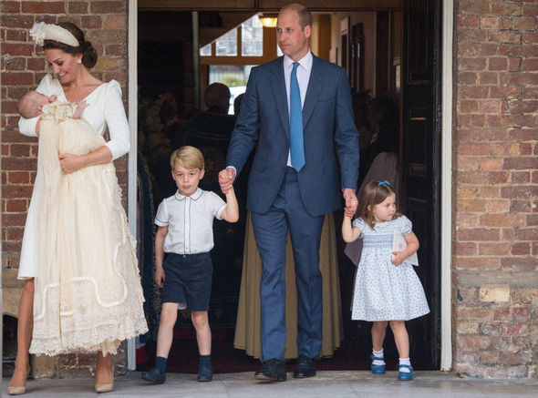 Kate Middleton and Prince William have already welcomed George Charlotte and Louis Image GETTY